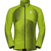Odlo Omnius Kurtka do biegania Mężczyźni zielony